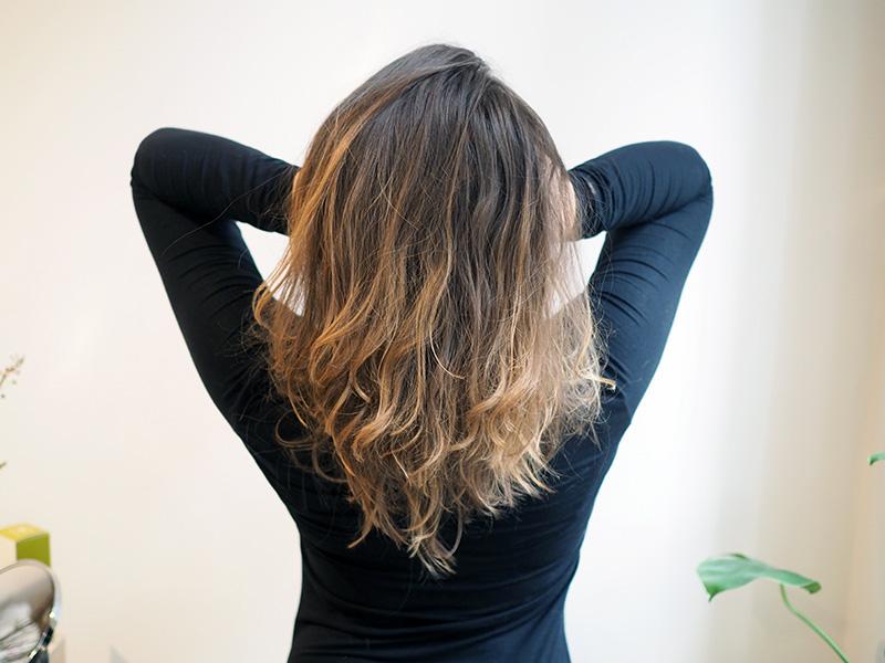 hiusten savivaalennus