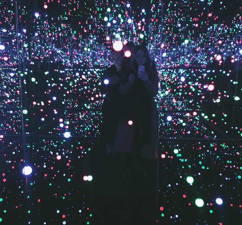 Louisiana museo Kusama lights