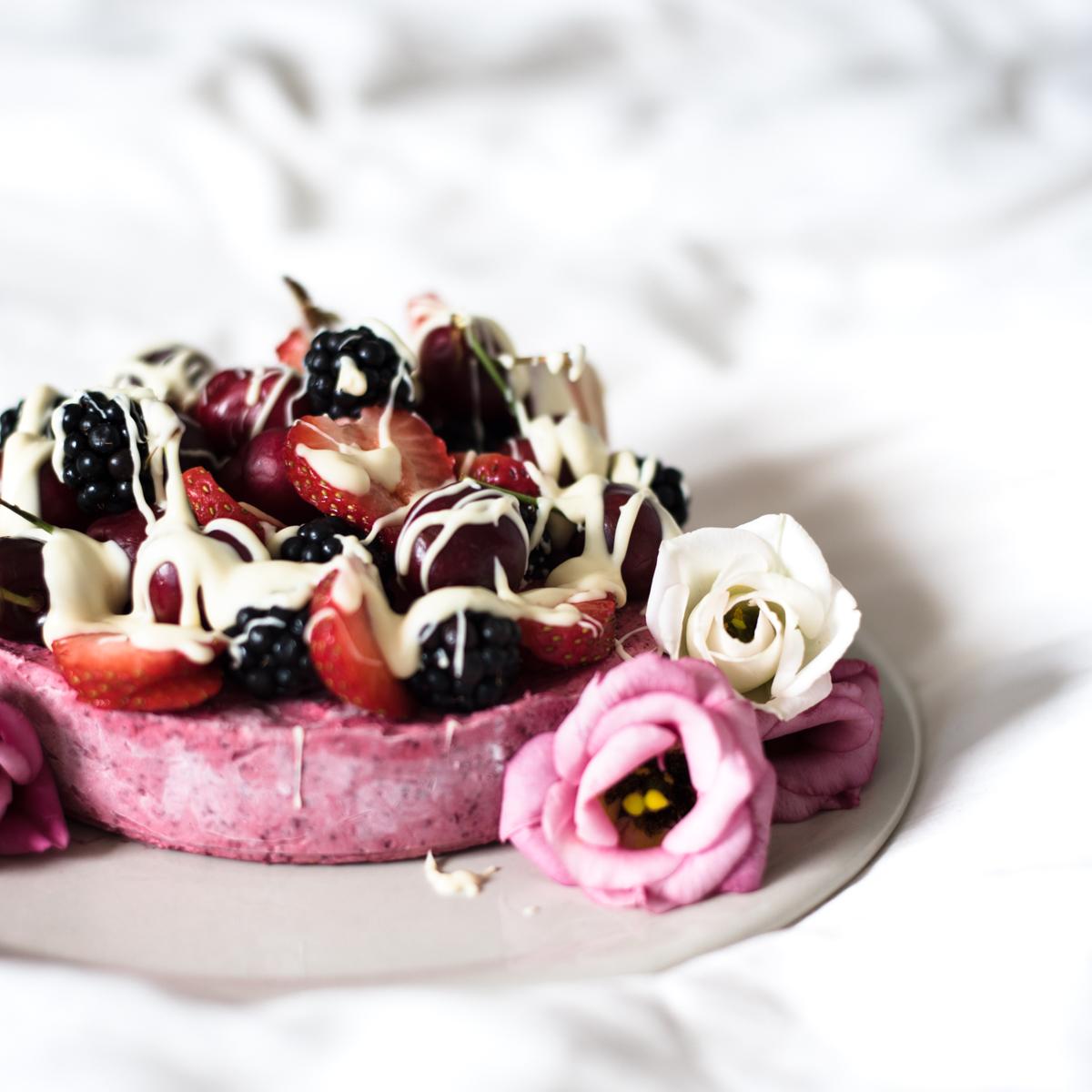 Terveellinen jäätelökakku Sugar Helsinki